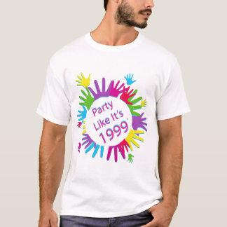 Party Like It's 1999® - T-Shirt - Des 05 Hands D