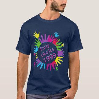 Party Like It's 1999® - T-Shirt - Des 05 Hands L