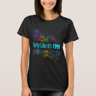 Party Like It's 1999® - T-Shirt - Des 08 Fireworks