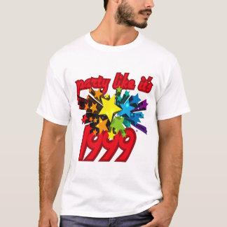 Party Like It's 1999® - T-Shirt - Des 10 Star Powe