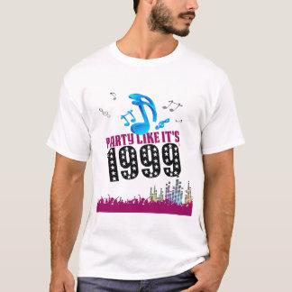 Party Like It's 1999® - T-Shirt - Des 13 Music Cit