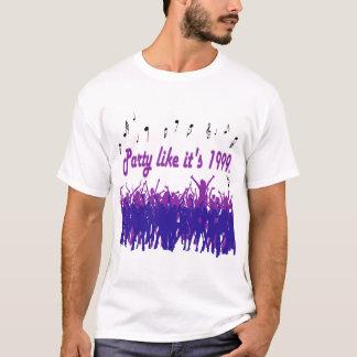 Party Like It's 1999® - T-Shirt - Des 14 Purple Pe