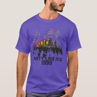 Party Like It's 1999® - T-Shirt - Des 15 Party Cit