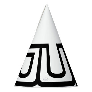 Party little hat with young logo