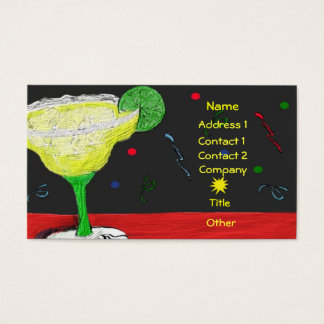 Party Margarita Business Card