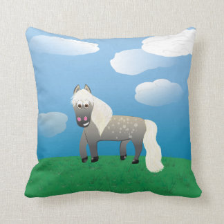 Party Marty! Throw Pillow