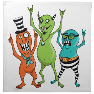 Party Monsters Napkin
