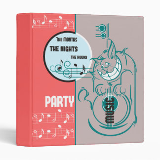 Party Music Cat Binders