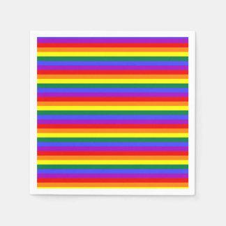 Party Napkin Pride flag rainbow