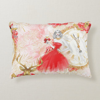 Party o'clock cushion. decorative pillow