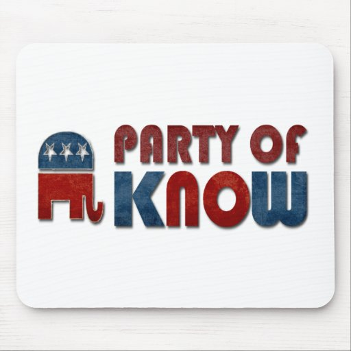 Party of Know Mousepads