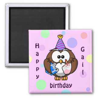 party owl magnet
