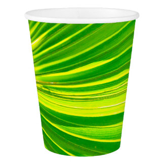 Party palm Leaf paper cup