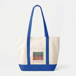 Party Palms Impulse Tote Bag