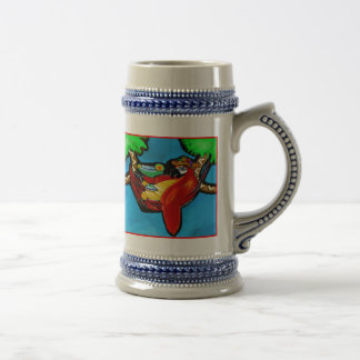 PARTY PARROT BEER STEIN