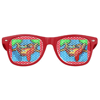 PARTY PARROT RETRO SUNGLASSES