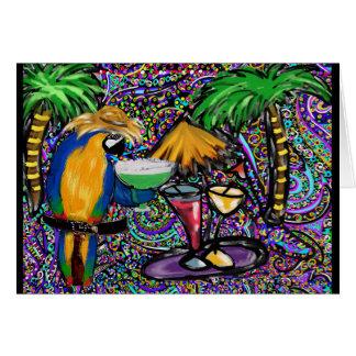Party Parrots Card