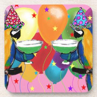 Party Parrots Coaster