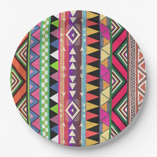 Party Pattern HHM Party Paper Plate 9 Inch Paper Plate