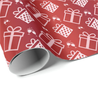 party pattern wrapping paper