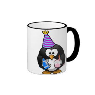 Party Penguin Ringer Mug