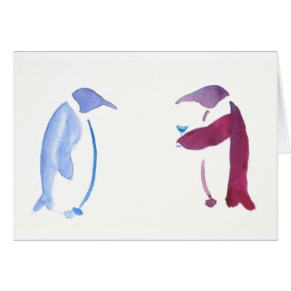 Party Penguins Card