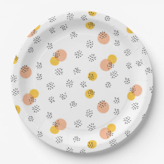 Party People Confetti Paper Plates 9""