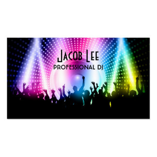 Party People DJ s Business Card
