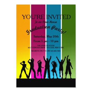 Party People Graduation Invitation