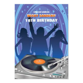 "Party People Invitation 5"" X 7"" Invitation Card"