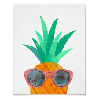 Party Pineapple Poster