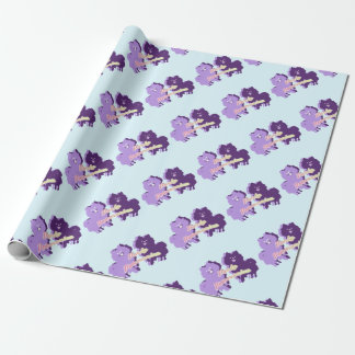 Party Pomeranian Wrapping Paper