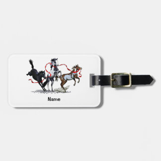 Party Ponies Luggage Tag