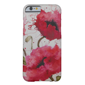 Party Poppies iPhone 6 case Barely There iPhone 6 Case