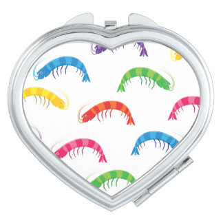 Party Prawns Compact Mirror