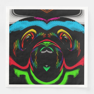 party puppy paper dinner napkin