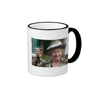 Party Queen Ringer Coffee Mug