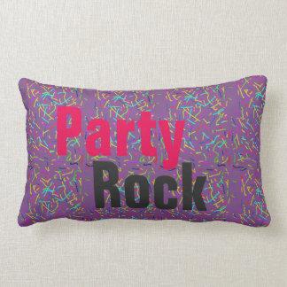 party rock lumbar pillow