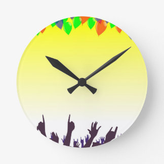Party Round Clock