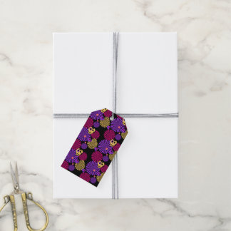 Party skulls gift tags