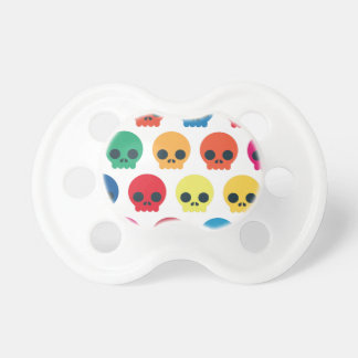 Party Skulls Pacifier