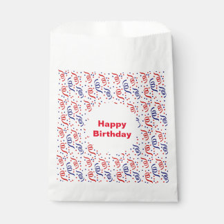 Party Streamers Favour Bag