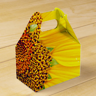 PARTY SUNFLOWER FAVOR BOX- TAKE HOME GIFT FAVOR BOX