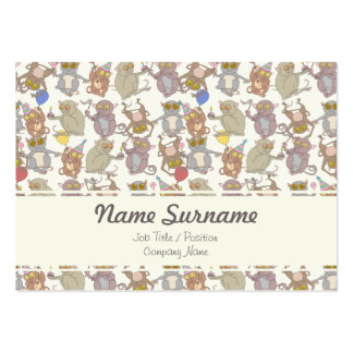 Party Tarsiers, business card template