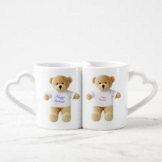 Party Teddy Bears for Mug Set