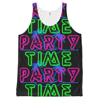 Party Time All-Over-Print Tank Top