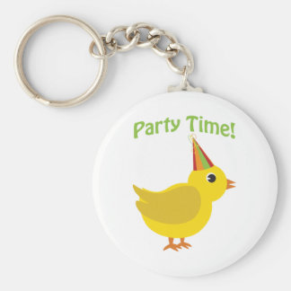 Party Time! Chick Keychain