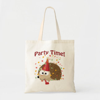 Party time! Confetti Hedgehog Tote Bag