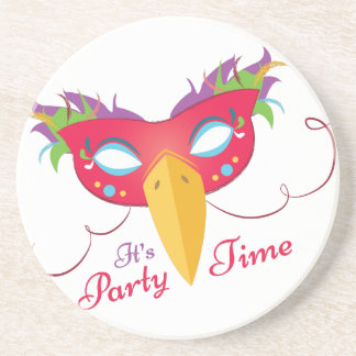 Party Time Drink Coaster