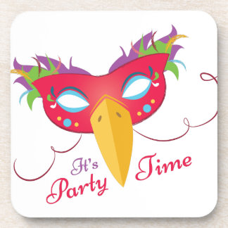 Party Time Drink Coasters